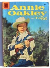 Vintage Annie Oakley and Tagg #6 (Jan-Mar 1956, Dell) Comic Book