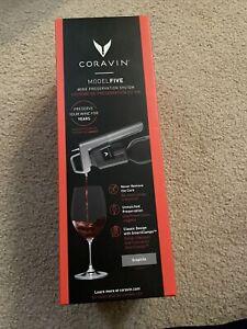 NEW Coravin Model Five Wine Preservation System, Graphite $299.95