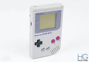 Original Nintendo Game Boy Grey Handheld Console PAL