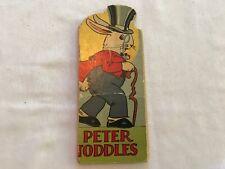 1929 PETER TODDLES Children's Book, McLoughlin Bros, Springfield, Mass