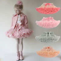 Baby Girl Fluffy Ballet Tutu Skirt Princess Party Dancewear Halloween Costume