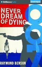 James Bond: Never Dream of Dying by Raymond Benson (2015, CD, Unabridged)