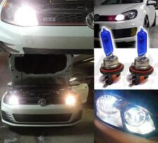 12V H15 715 5000K 15W/55W High beam DRL Super White Colour Headlight Globe Bulb