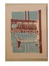 Of Montreal Silkscreen Printed Poster