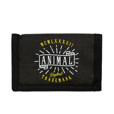 ANIMAL MENS WALLET.NEW EXPLOITED BLACK COIN CREDIT CARD MONEY NOTE PURSE 8W 6 2