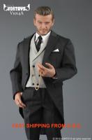 1/6 Gentleman Suit Set Royal Style British Tuxedo For Hot Toys Coomodel ❶USA❶