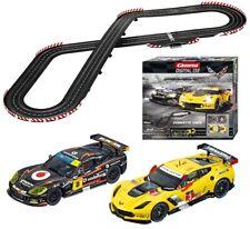 Carrera Digital 132 Corvette Race Slot Car Racing Race Set 30186 NEW