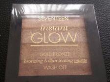 Seventeen Instant Glow Pink Bronze Shimmer Bronzing Brick 5.7g