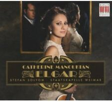 Catherine Manoukian, E. Elgar - Violin Concerto [New CD] Digipack Packaging