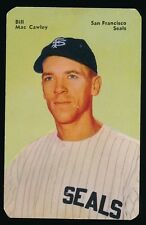 1952 Mother's Cookies (PCL) -#11 BILL McCAWLEY (San Francisco Seals) -Tough SP