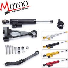 Steering Damper Stabilizer Linear Bracket kit for Yamaha MT09 FZ09 MT-09 13-17