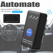 Bluetooth OBD2 Scanner Code Reader Car Engine Check Automotive Diagnostic Tool