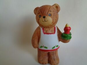 VINTAGE 1980 ENESCO LUCY AND ME BEAR FIGURE