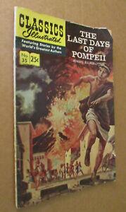The Last Days of Pompeii Classics Illustrated #35 1970 (HRN 169) Jack Kirby