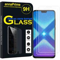 """2 Films Verre Trempe Protecteur Écran Haute Qualite pour Huawei Honor 8X 6.5"""""""