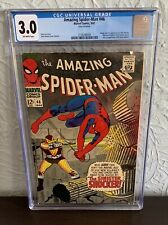 AMAZING SPIDER-MAN #46 CGC 3.0 1967 ORIGIN AND 1ST APPEARANCE OF THE SHOCKER