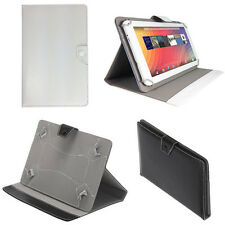 """PROTECTIVE COVER LEATHER CASE FOLDING UNIVERSAL FOR TABLET 7 """"- 10.1"""" INCH"""