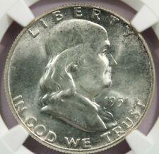 1951 1951-P Franklin Half Dollar NGC MS64