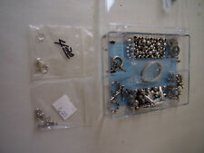 CRAFTING SILVER TOGGEL KIT AND ASSORTED ITEMS .925 SILVER CLASP ECT