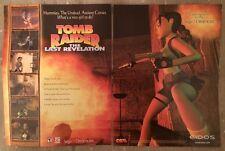 "Tomb Raider The Last Revelation Poster Ad Print 10"" X 15""  Lara Croft Dreamcast"