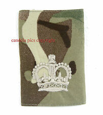 Genuine British Army MTP Rankslide Warrant Officer WO2. NEW