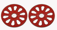 450 Pro Sport V2 SE Slant Thread Main Gear 121T Red T-Rex