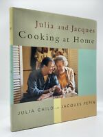 Julia and Jacques Cooking at Home - TWICE SIGNED FIRST EDITION - 1999