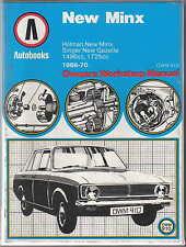 Hillman New Minx & Singer New Gazelle 1966-1970 Autobooks Workshop Manual 1973
