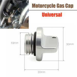 Universal CNC Aluminum Alloy Modified Keyless Motorcycle Fuel Gas Cover Tank Cap