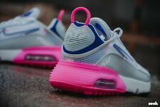 Nike Womens Air Max 2090 White Pink Trainers  UK 7.5   EU 42  US 10  BNIB