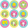 144 Happy Easter 30mm Children's Reward Stickers for Teachers, Party Bags