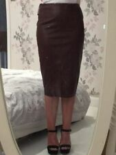 River Island Knee Length Leather Skirts for Women