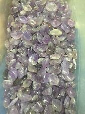 1lb Wholesale Tumbled Amethyst Polished Stones Reiki Pocket Crystals Bulk