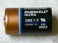 4 DURACELL CR2 3v lithium battery EL1 Photo EXPIRE 2024