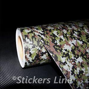 Film Camouflage Tundra CM 500x150 Wrapping Camouflage Armée Camouflage Camo
