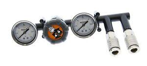 Ridgid Regulator 079027009701 8 Gallon Wheelbarrow Compressor GP80145SW