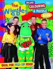 The Wiggles Delux Colouring & Puzzle Book