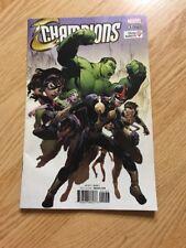 Champions # 1 Marvel Comic Book