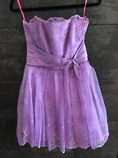 Betsey Johnson lavender evening dress size 6 New