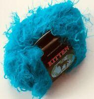 Lang Yarns DouDou #0060 Red Fuzzy Fringed Soft Nylon Yarn 50 gram 170 yds