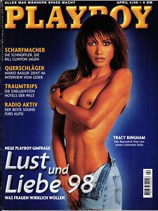 PLAYBOY D 4/1998 April - Tracy Bingham, Charmaine Sinclair, Mario Basler