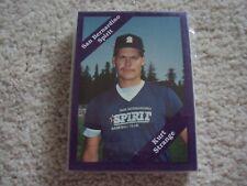 1989 SAN BERNARDINO SPIRIT TEAM SET CAL (31 CARDS) SEATTLE MARINERS KURT STRANGE