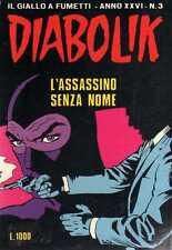 fumetto DIABOLIK ANNO XXVI numero 3