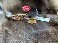 2011 Case 5383 Whittler Knife With Genuine Stag Handles - Mint In Box - CA58392