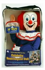 Bonus Bundle BOZO THE CLOWN - Ventriloquist Dummy Doll - NEW