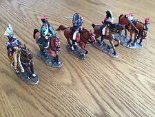 Del Prado Napoleonic Cavalry x 5 Models
