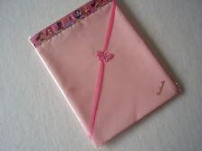 One Handmade Baby Pink Polycotton Sheet-Princess Ribbon Top Edge Crib/moses