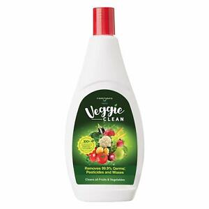 Veggie Clean Natural Vegetable & Fruit Wash Liquid |Removes 99.9%Germs 100% Safe
