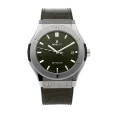 Hublot Classic Fusion Titanium Auto 45mm Strap Mens Watch 511.NX.8970.LR