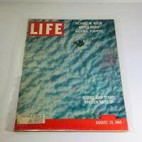 VTG Life Magazine: August 29 1960 - Record Jump Starts 19 Miles Up/Richard Nixon
